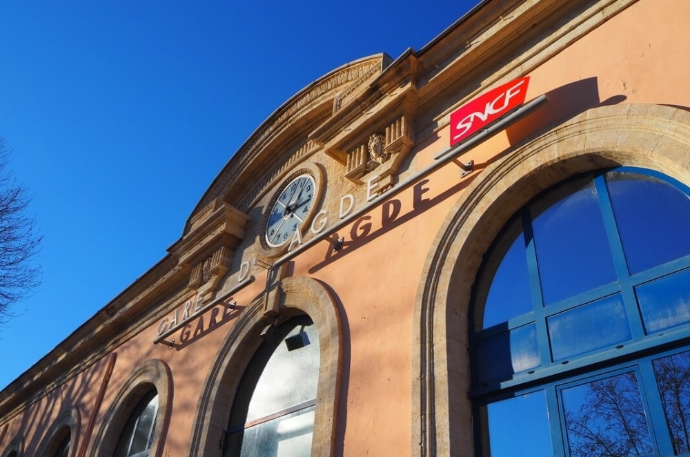 Agde Station, a key intermodal transport location for Langedouc
